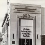 Historic Lyon County State Bank on Commercial Street in Emporia in the 1960s