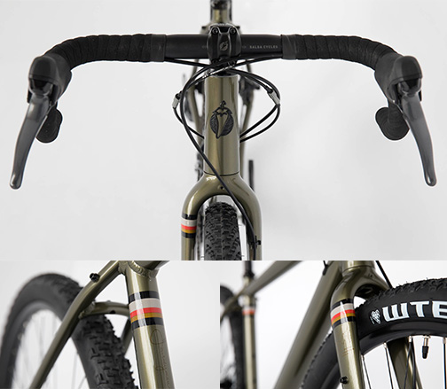Detailed images of Salsa Journeyman Bicycle