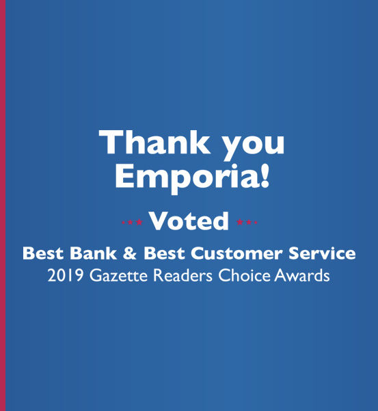 LCSB voted best bank and best customer service