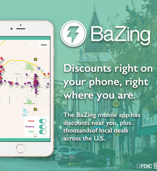 Bazing mobile app