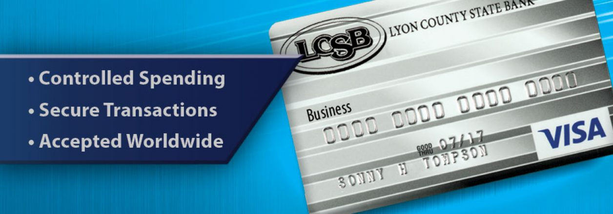 Business VISA® Credit Card | Lyon County State Bank